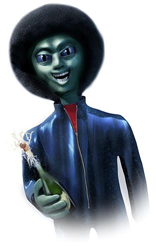 Party alien Jimi