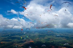 Paragliding World Cup Brazil.